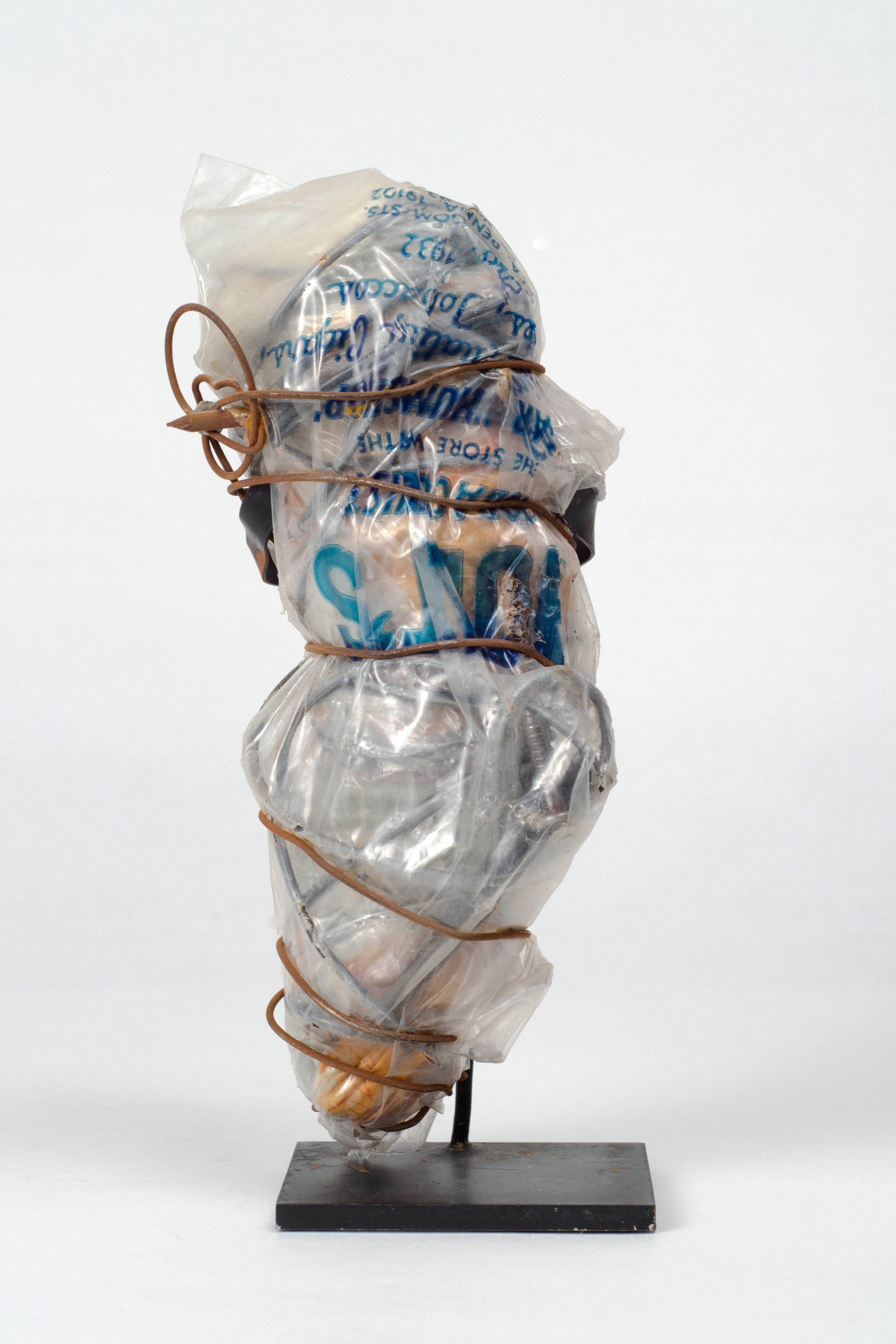 Toto /'Antonio de Curtis Petite Statue Figurine contre le Jella Haute 20 CM
